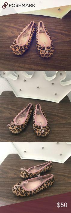 f0d1fa2494f Pretty Ballerinas Ballet Flats Pink   leopard Ballet Flats Girls Size 11 Pretty  Ballerinas Shoes Dress. Bailarinas ...