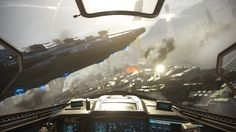 Step inside of a fighter jet in Call of Duty: Infinite Warfares VR mission