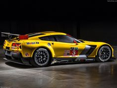 2015 Chevrolet Corvette C7.R left