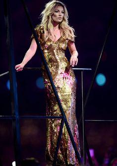 Asco Kate Moss en a clausura de los JJOO de Londres.