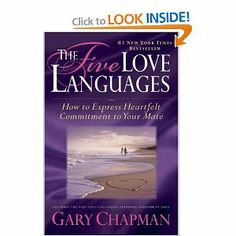 The Five Love Languages: How to Express Heartfelt Commitment to Your Mate by Gary Chapman. $12.02. Publisher: Northfield Publishing; Gift edition (September 5, 1996). Publication: September 5, 1996. 192 pages. Author: Gary Chapman