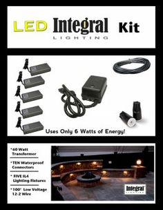 How to install retaining wall lights using an Integral Lighting Kit. On the job photos illustrate the steps to wire up the sitting wall lighting of a standard patio. Landscape Lighting Kits, Wall Lighting, Garden Gates, Landscaping, Yard, Exterior, Lights, Outdoor, Outdoors