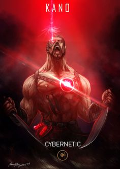 Mortal Kombat X Kano Cybernetic by Grapiqkad on DeviantArt