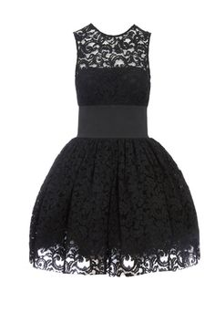 Black lace dress - Asos