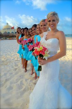Beach Wedding At The Iberostar Grand Paraiso Riviera Maya Mexico June 2017