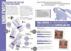 R+F UNBLEMISH Regimen for acne and post acne marks.  Rodan and Fields - Rodan + Fields