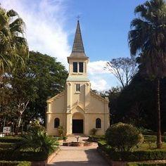 Capela Sagrado Coração de Jesus, no Parque Vicentina Aranha , em São José dos Campos - SP - Brasil