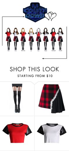 """""""[Second Win] Rexanne - NEW PAGE"""" by rexanne-official ❤ liked on Polyvore featuring Pretty Polly and Maison Margiela"""