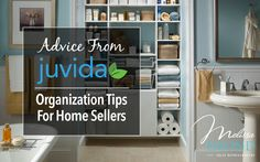 When it comes time to sell your home, there's one key thing that you need to deal with first: stuff. Here are some tips to deal with all that stuff: http://www.melissaemond.com/advice-from-juvida-home-organization-tips-for-home-sellers/