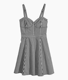 Coffin Kitsch: Kitsch Picks: Striped Cotton Dress