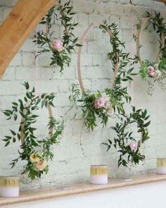 Boho Wedding Backdrop Photo Booths Inspirational Jasmine Floral Hoops - Home Page Deco Floral, Floral Design, Trendy Wedding, Boho Wedding, Wedding Greenery, Wedding Simple, Autumn Wedding, Floral Wedding, Wedding Centerpieces