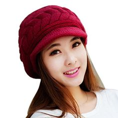 Fashion Hip-Hop Warm Soft Stretch Knit Crochet Slouch Beanie Hat Skull Cap (Black)
