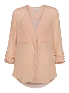 T.Bab has cranked out another luscious silk georgette blouse. Bravo.