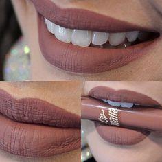 Batom líquido Matte LATIKA | Cor 33 ❤️#latikacosmetics #lipstick #batommatte