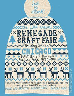 Renegade Craft Fair Posters