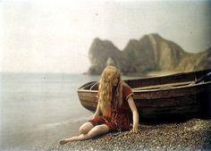 Mervyn O'Gorman: Christina at Lulworth Cove (1913)
