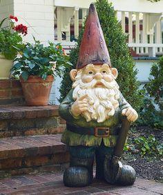 Look at this #zulilyfind! Gottfried the Gigantic Garden Gnome Statue #zulilyfinds