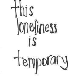 this loneliness