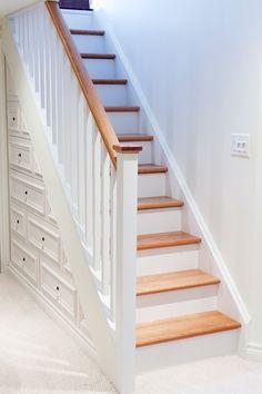 RT Urbanomic Beautiful  functional drawers under this new staircase!  #homerenovation #interiordesign #customcabi https://t.co/v2tJ5OFxpB