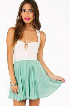 Doubled Deedee Dress $33 at www.tobi.com