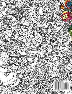 Doodle Fusion Zifflins Coloring Book Volume 2