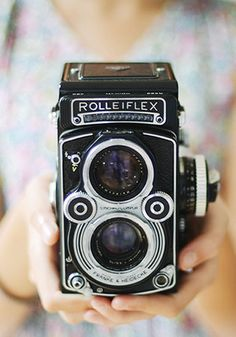 I have wanted a Rolleiflex for years and years. Hopefully some day I'll get to own one.