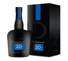 20 year old dictador rum