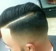 Well defined parting and fade
