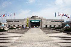 Korean War Memorial in Seoul, Republic of Korea  전쟁 기념관
