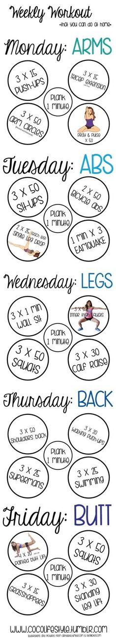Try this weekly workout plan when you need to lose weight fast. It will tone you up and help you drop those stubborn fat pounds that are dragging you down.