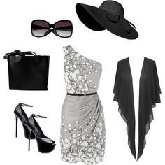 Classic Jackie O, created by nichole-stein-clinger on Polyvore