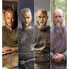 The evolution of Ragnar Lothbrok ** Vikings Vikings Show, Vikings Game, Vikings Tv Series, Travis Fimmel Vikingos, Vikings Travis Fimmel, Wallpaper Vikings, Ivar Vikings, Bracelet Viking, Viking Jewelry