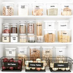 13 Genius pantry organization ideas that will leave you speechless Pantry storage, Kitchen organization, H – Experience Of Pantrys Kitchen Organization Pantry, Home Organisation, Organizing Ideas, Organization Hacks, Organized Pantry, Organising, Pantry Ideas, Open Pantry, Organize Small Pantry