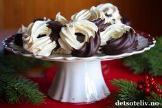 Marengsringer med sjokolade
