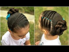 Little Girl Hairstyles Lil Girl Hairstyles, Girls Hairdos, Princess Hairstyles, Braided Hairstyles, Hairstyles 2016, Toddler Hairstyles, Natural Hair Styles, Short Hair Styles, Hair Due