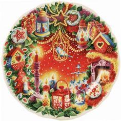 Christmas 2012 - 1 Dessert plate