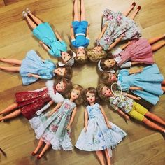 Instagram media jungjiwon_grata - my precious vintage Tammy dolls!! #dollatelier #tammydoll #vintagetammydoll
