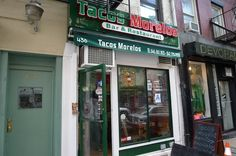 Tacos Morelos in the East Village - voted best tacos in US by Travel & Leisure