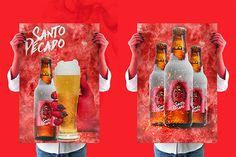 Poster - craft beer Santo Pecado
