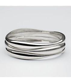 modern bangle bracelet...love.