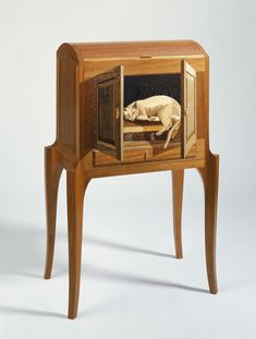 Animal – Silas Kopf Woodworking – Inlaid Wood Marquetry Studio Furniture