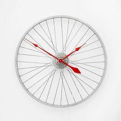 Bike Wheel Clock // Tread & Pedals