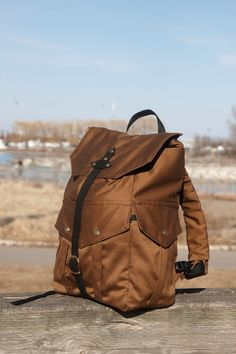 Very Nice Water-Resistant Backpack by FRWLBP on Etsy