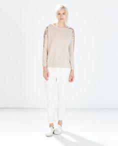 Size:s http://www.zara.com/us/en/woman/knitwear/sequin-applique-sweater-c269190p2032546.html
