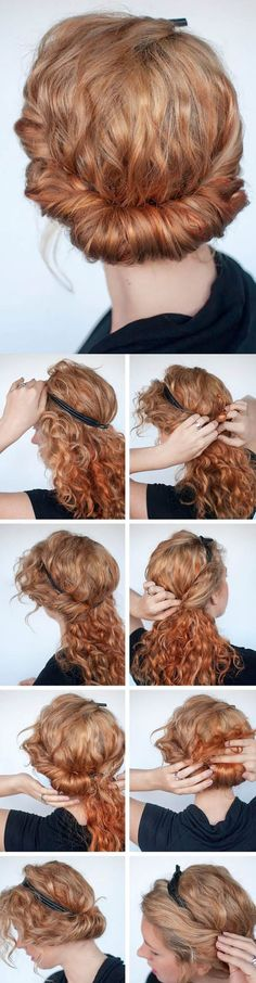 Peinados que sí lucirán en tu rizada melena