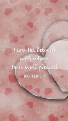 Matthew 3-4: {Beloved} You are more than enough #Bible