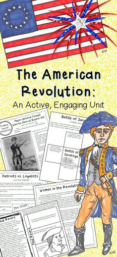 Are you looking for an engaging unit to use while teaching your students about the American Revolution? This unit contains lesson sheets, lesson activities, primary source analysis sheets, secondary source analysis sheets, a Revolutionary 3rd Grade Social Studies, Social Studies Classroom, Social Studies Activities, History Classroom, Teaching Social Studies, History Teachers, Teaching History, History Activities, Study History