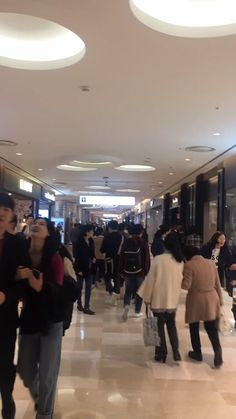 Lotte World Mall in Jamsil...on a Tuesday