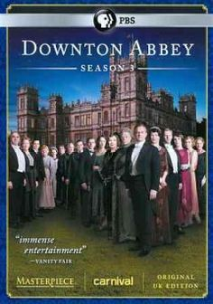 Downton Abbey Season 3  The real torture is that with only 7 episodes it is over for another year....