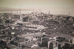 Beyazıt Kulesi'nden Nuruosmaniye, Sultanahmet Yönü